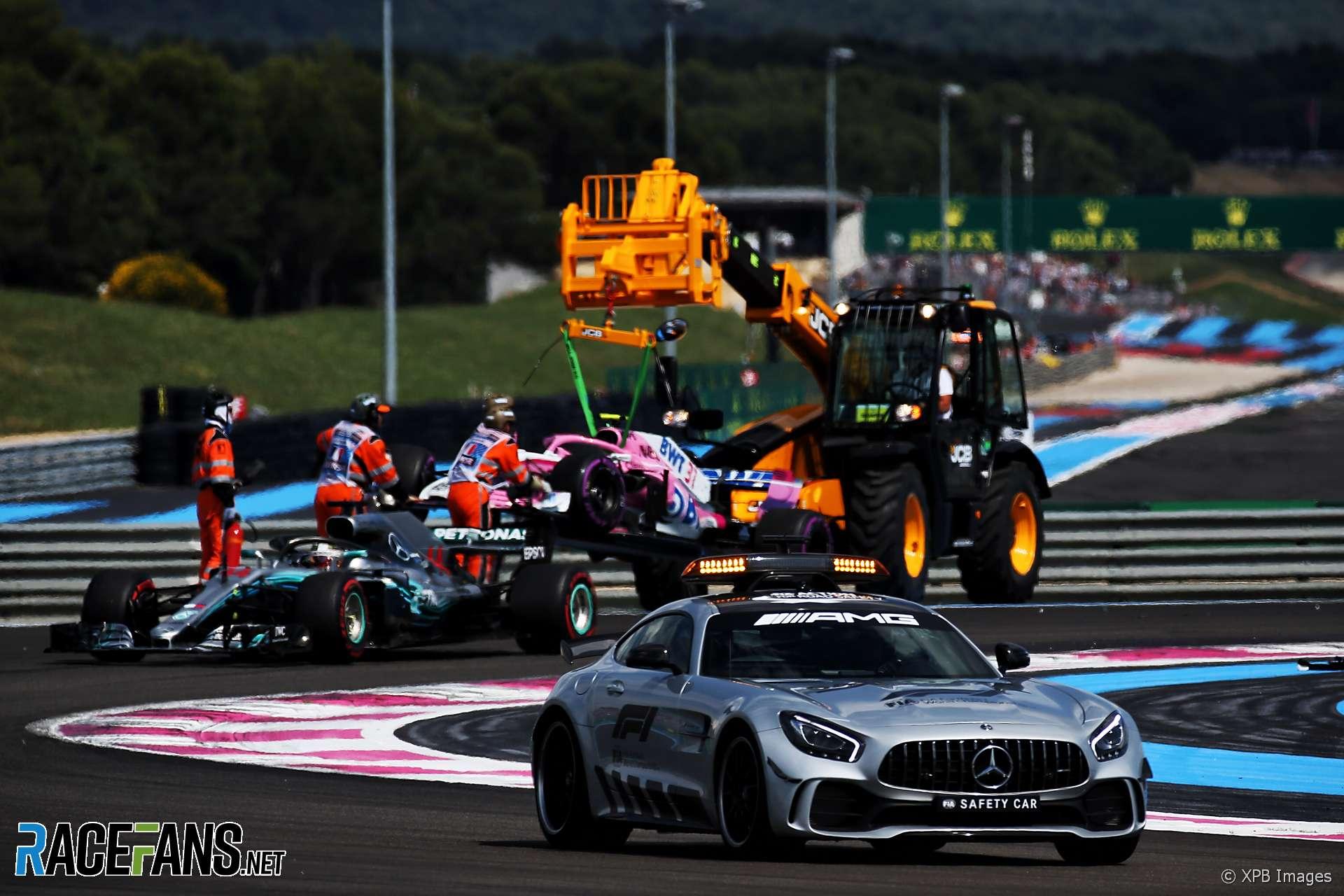 Safety Car, Paul Ricard, 2018
