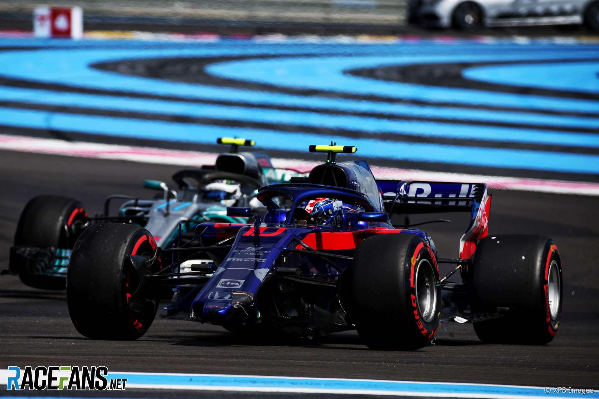 Pierre Gasly, Toro Rosso, Paul Ricard, 2018