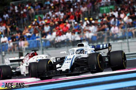 Lance Stroll, Williams, Paul Ricard, 2018