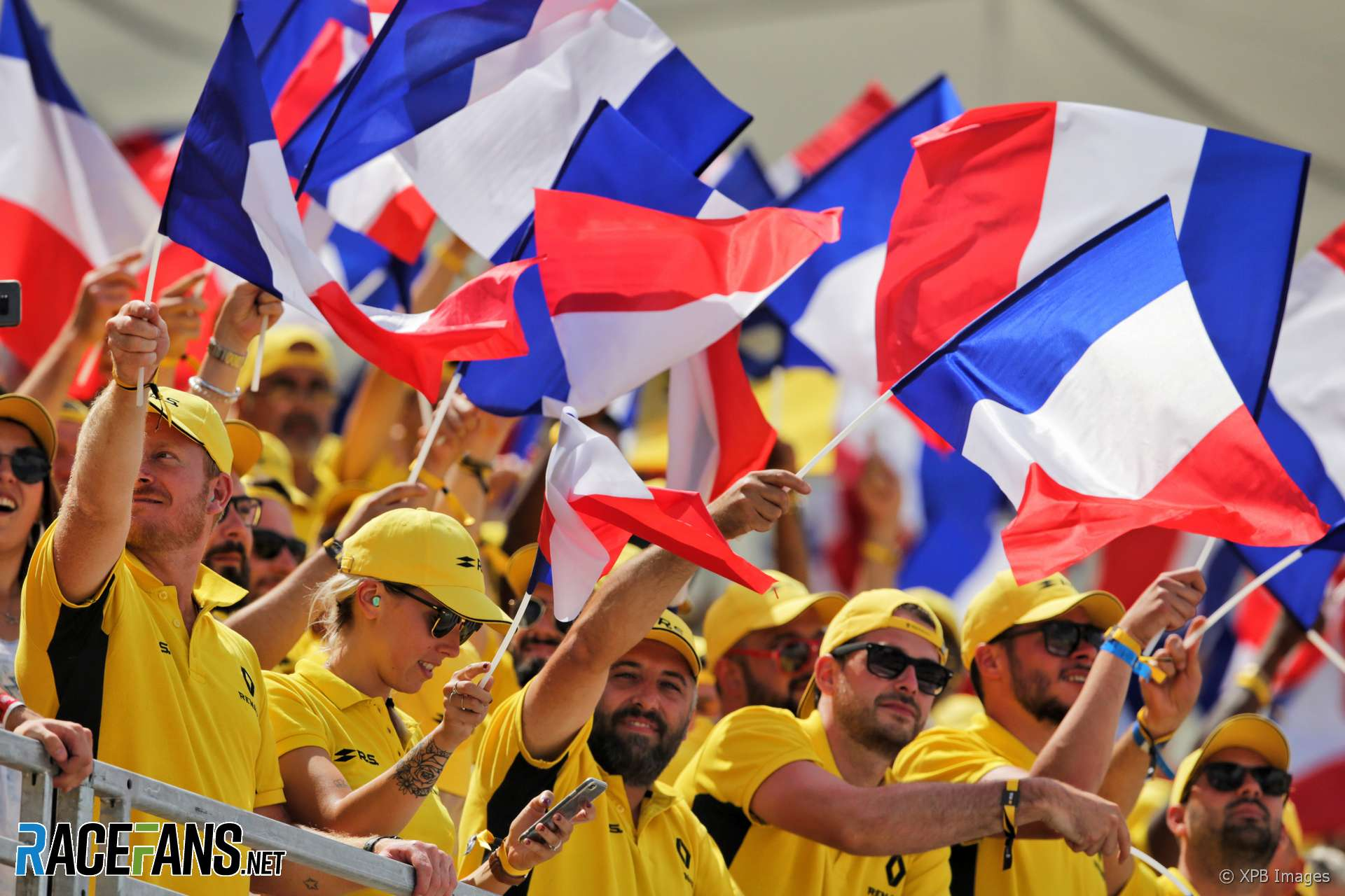 Renault fans, Paul Ricard, 2018
