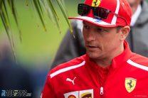 Raikkonen admits constructors' title will be difficult for Ferrari