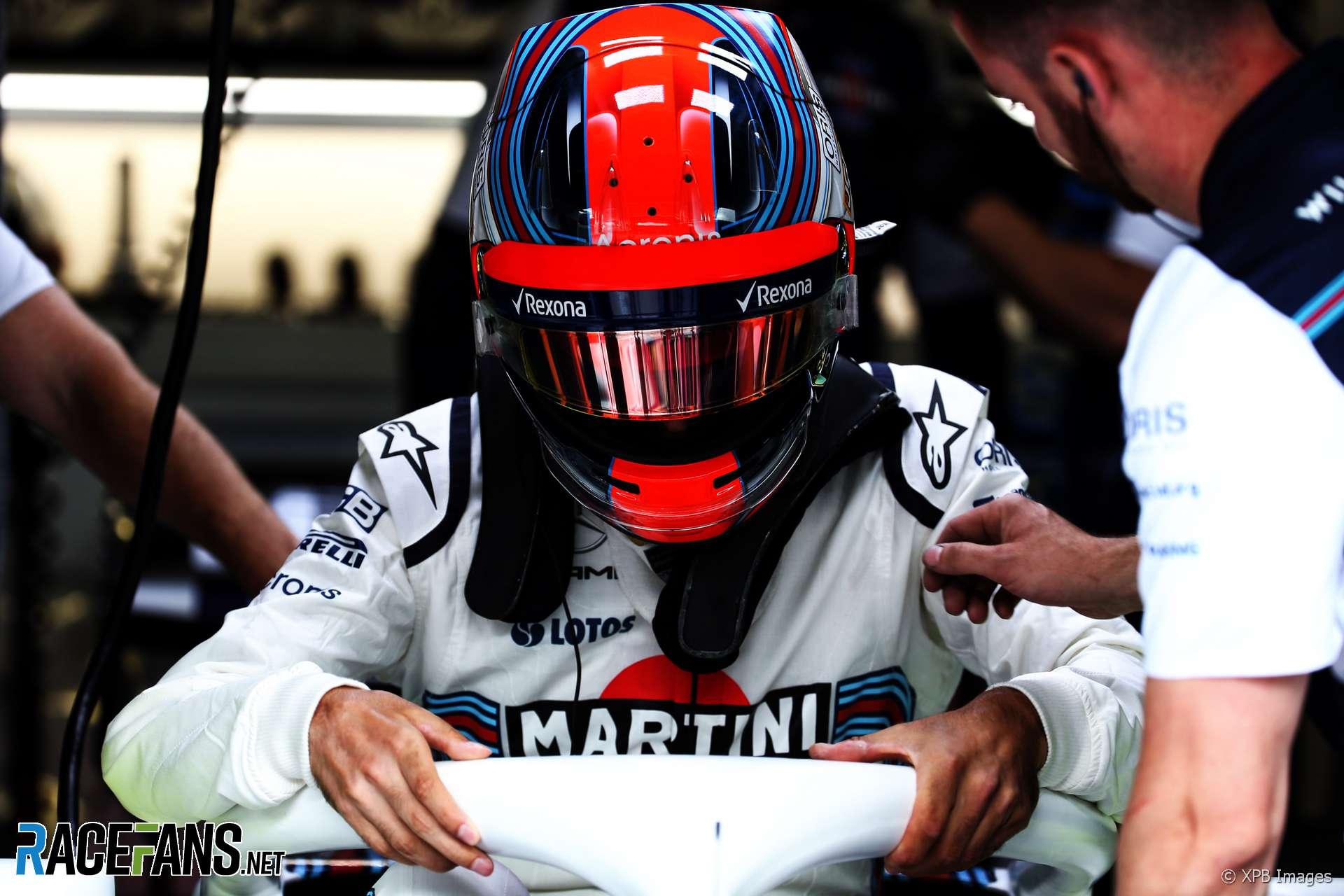 Robert Kubica, Williams, Red Bull Ring, 2018