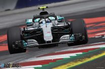 2018 Austrian Grand Prix grid