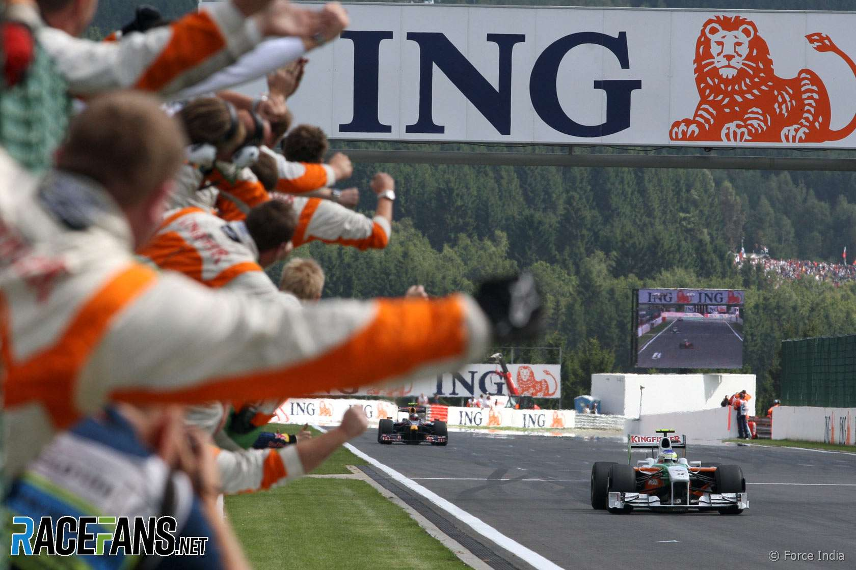 Giancarlo Fisichella, Force India, Spa, 2009