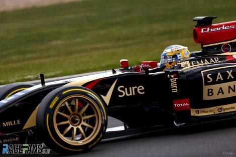 Pirelli 18-inch tyre test, 2014