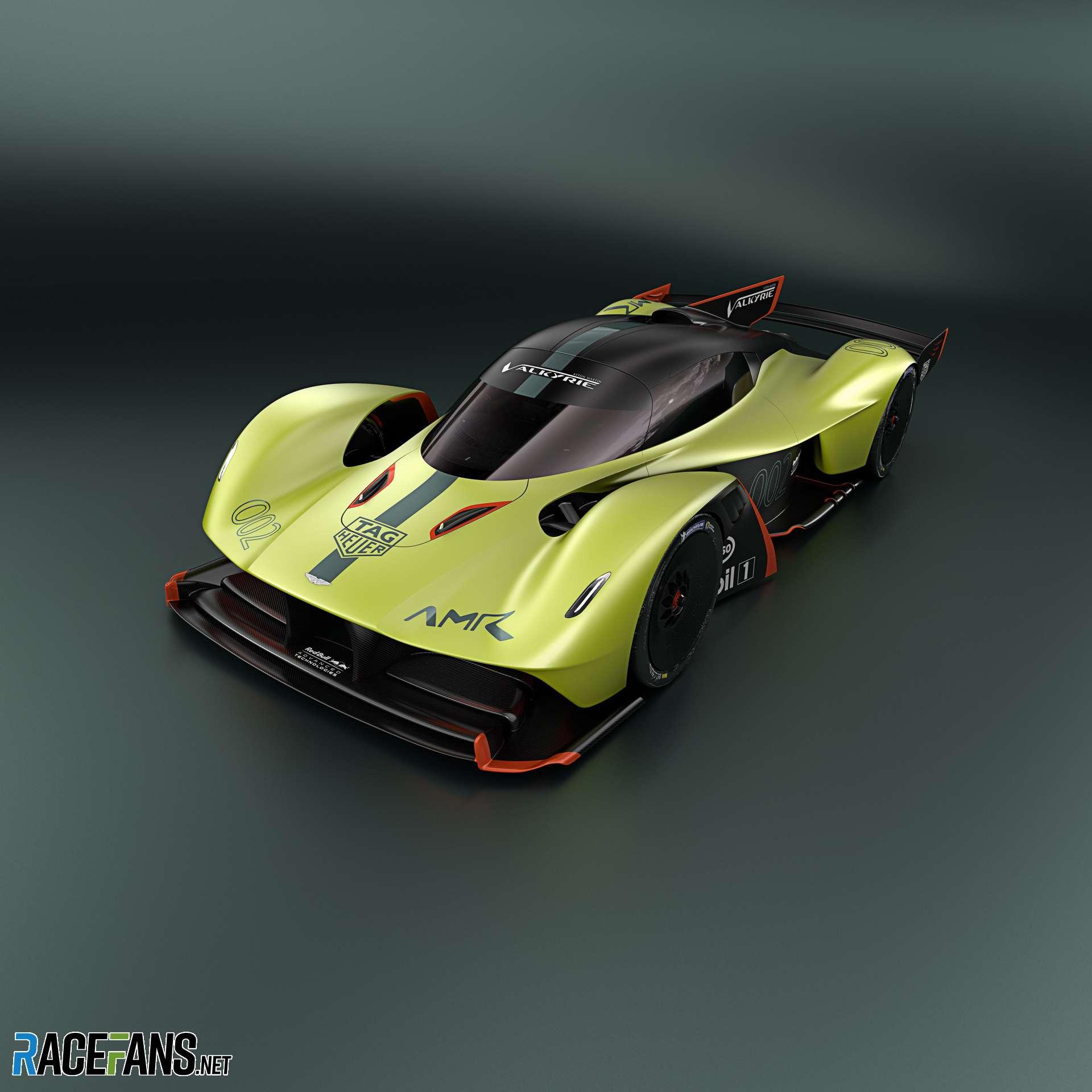 Aston Martin Valkyrie Sport: Aston Martin Valkyrie AMR Pro · RaceFans