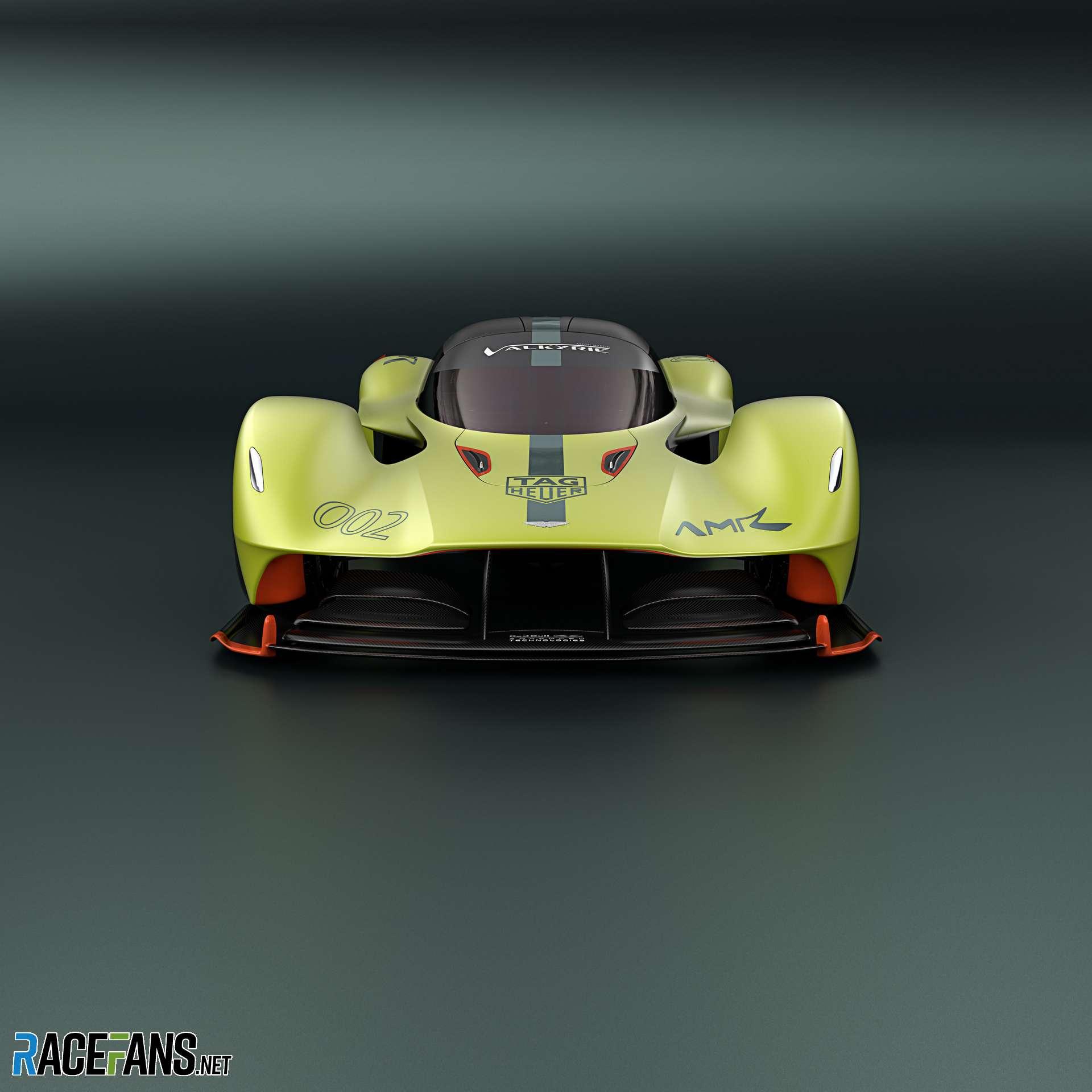 Aston Martin Valkyrie AMR Pro · RaceFans