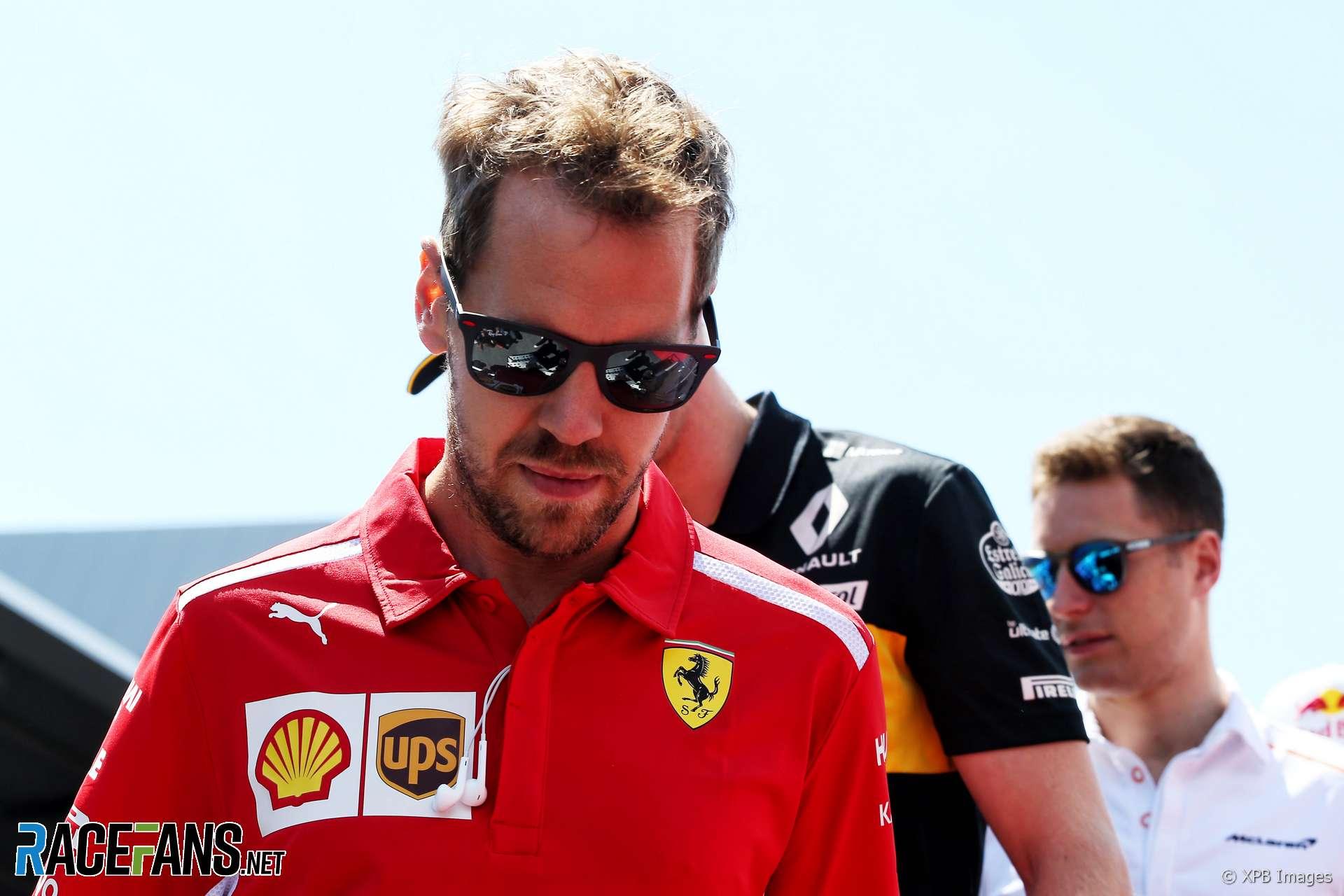 Sebastian Vettel, Ferrari, Red Bull Ring, 2018
