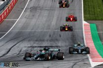 """Red Bull were """"surprised"""" Mercedes didn't pit Hamilton"""