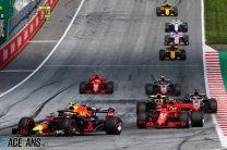 2018 Austrian Grand Prix race result