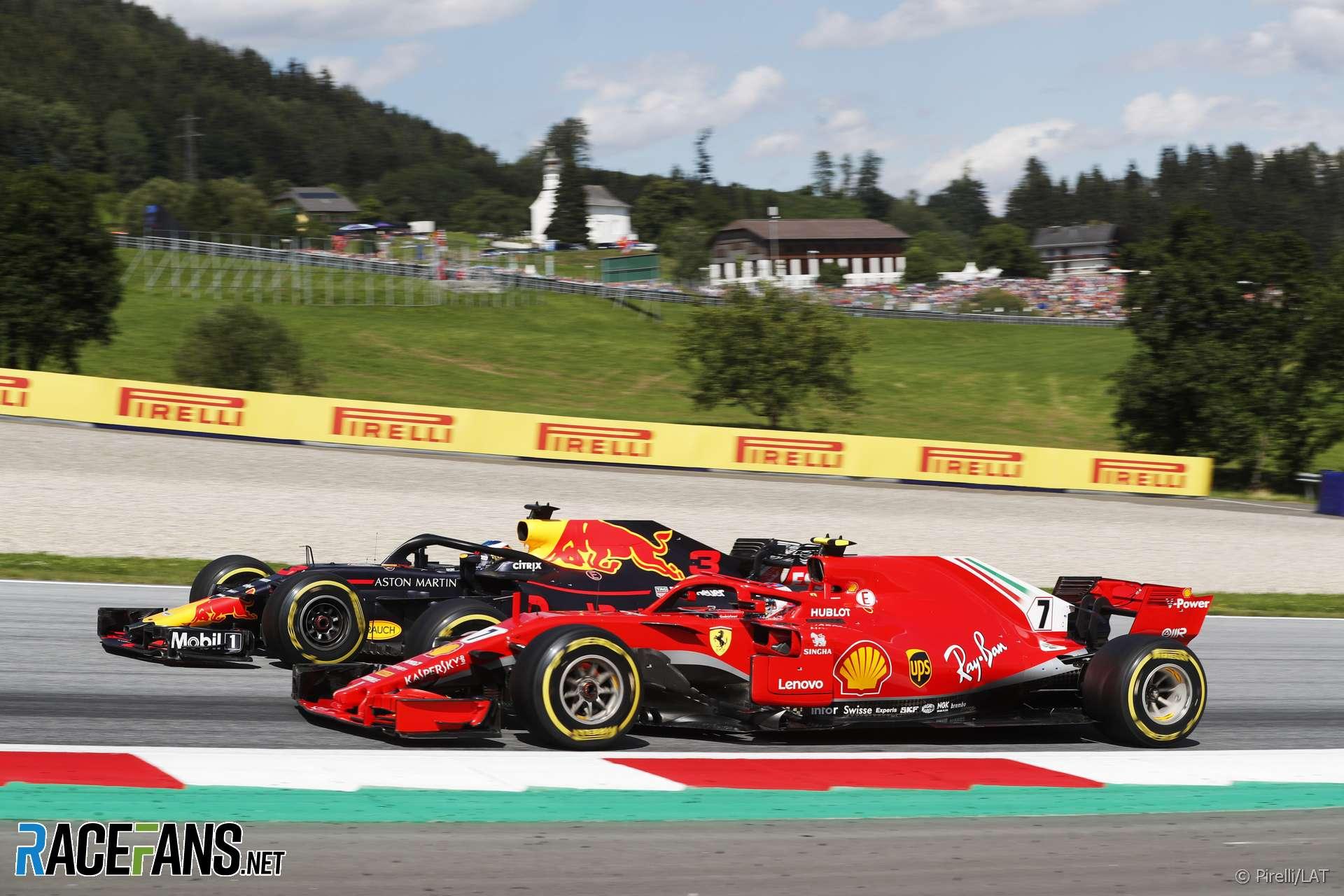 Max Verstappen, Kimi Raikkonen, Red Bull Ring, 2018