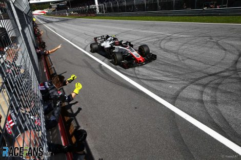 Kevin Magnussen, Haas, Red Bull Ring, 2018
