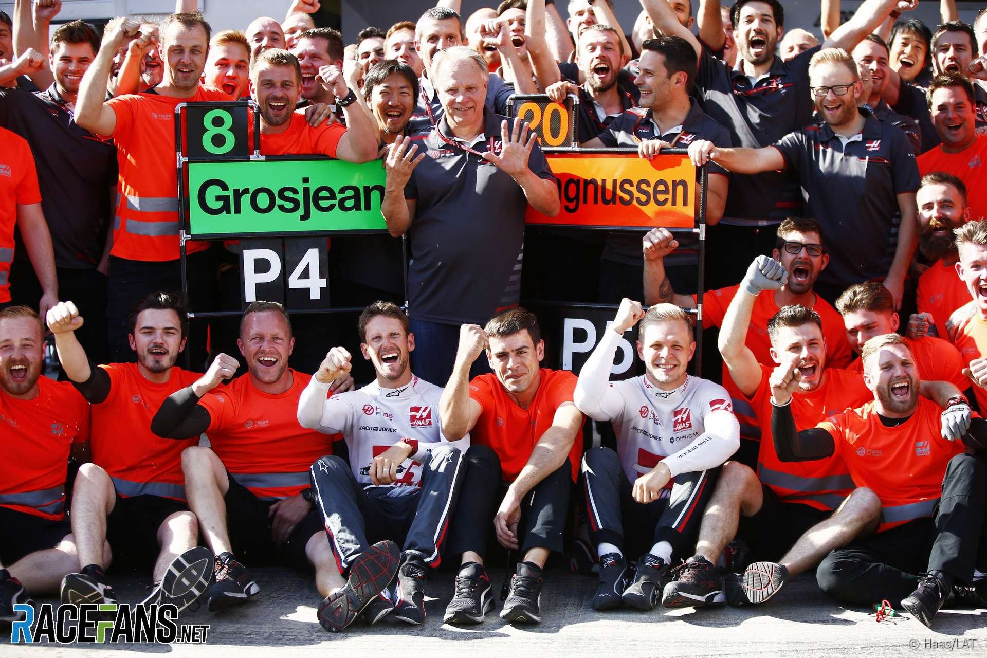 Romain Grosjean, Kevin Magnussen, Haas, Red Bull Ring, 2018