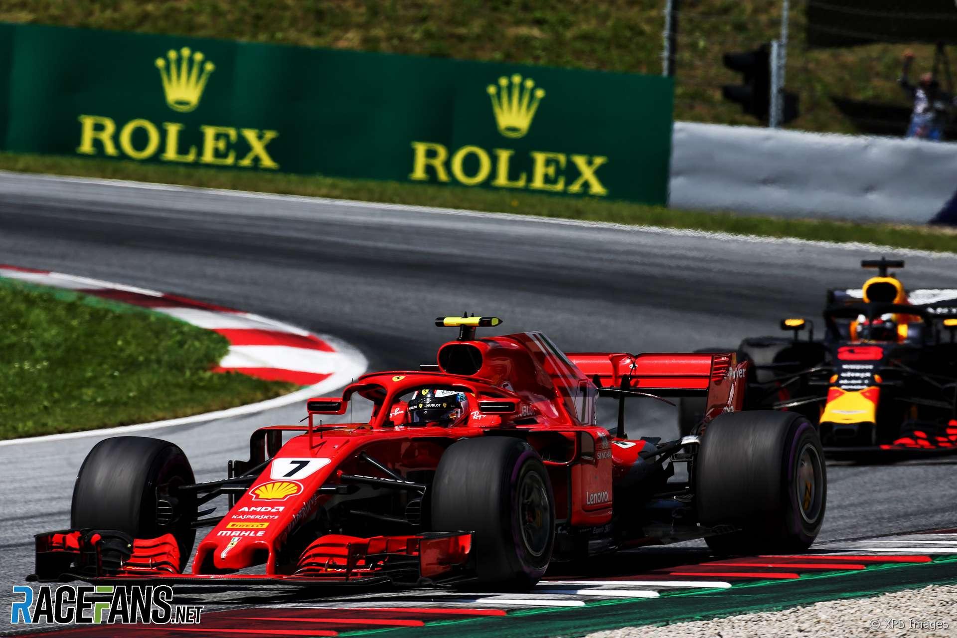Kimi Raikkonen, Ferrari, Red Bull Ring, 2018