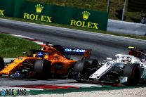 """Leclerc impressed by Alonso's """"very clever"""" tyre tactics"""