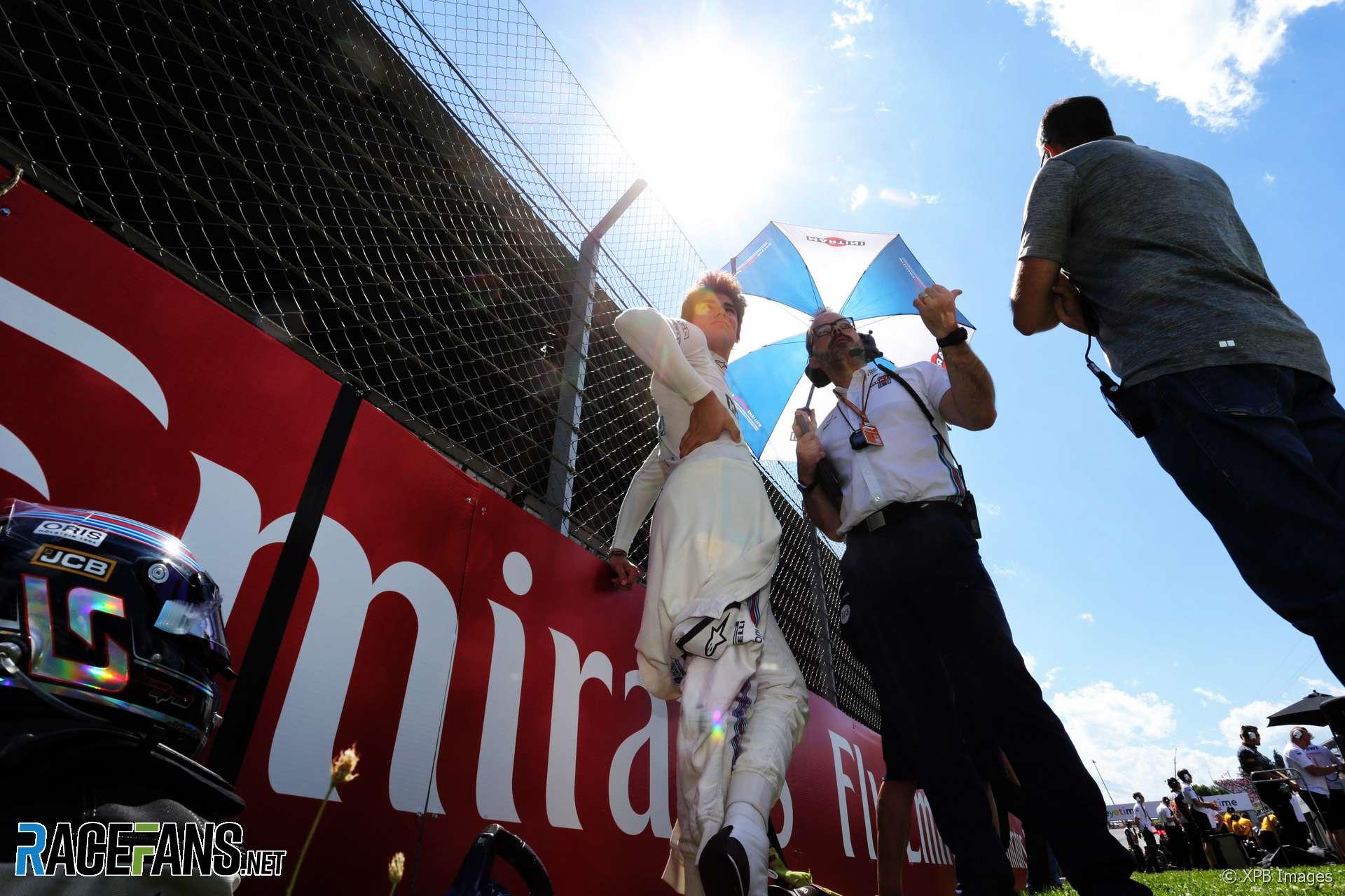 Lance Stroll, Williams, Red Bull Ring, 2018
