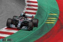 Hamilton: Pirelli should've brought thinner tyres to Austria