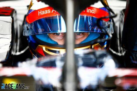 Romain Grosjean, Haas, Silverstone, 2018