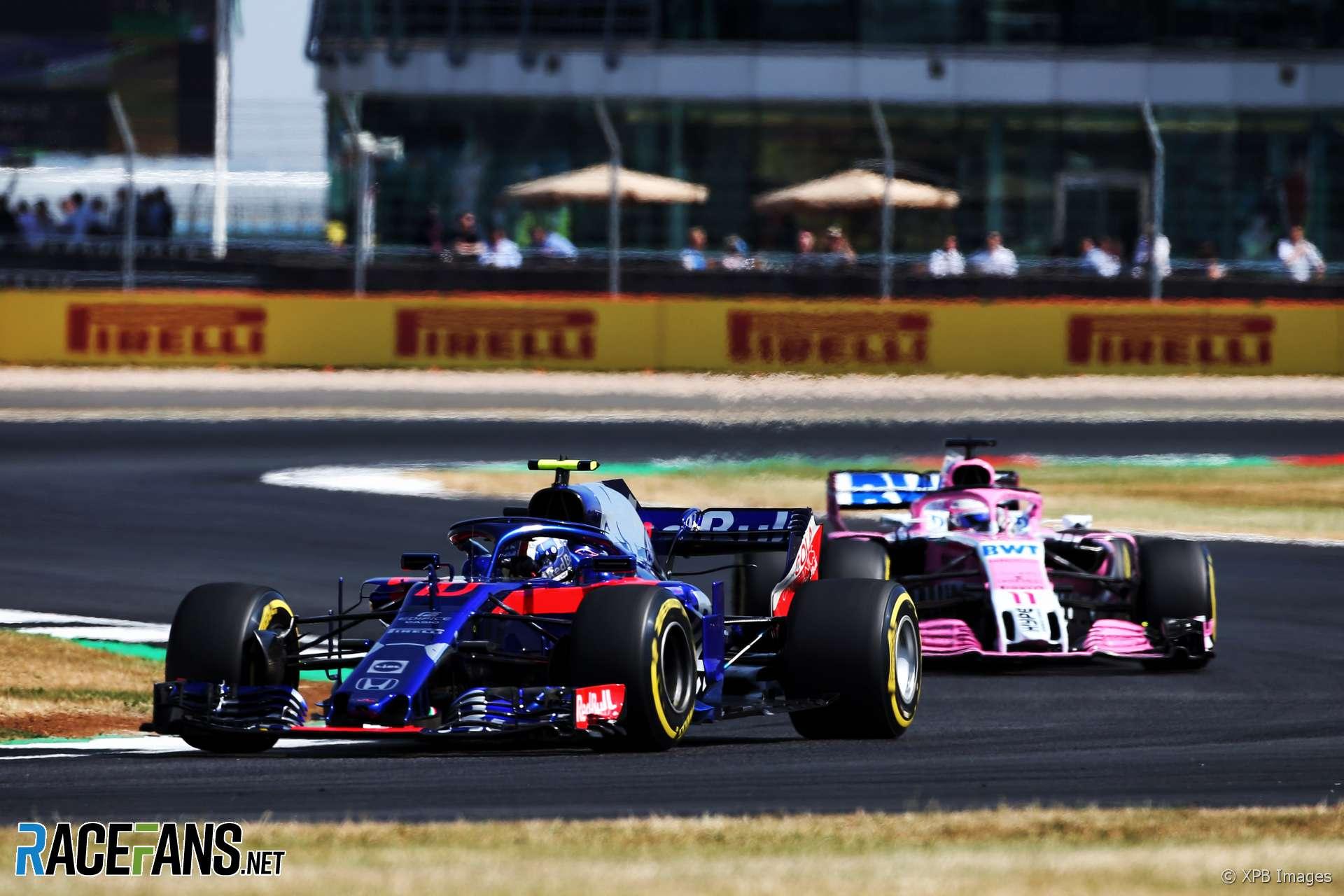 Pierre Gasly, Toro Rosso, Silverstone, 2018
