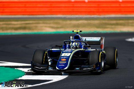 Lando Norris, Carlin, Formula Two, Silverstone, 2018