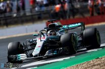 2018 British Grand Prix grid