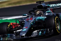 Hamilton takes pole at home by 44 thousandths of a second