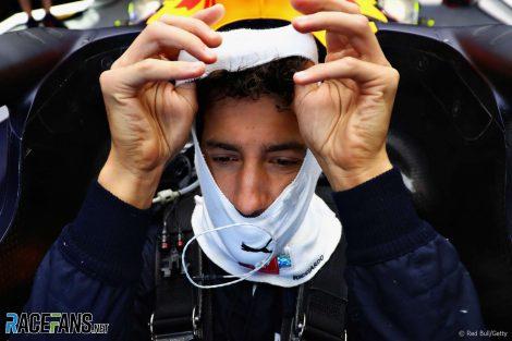 Daniel Ricciardo, Red Bull, Silverstone, 2018