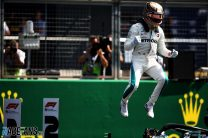 Hamilton equalled another Senna record at Silverstone