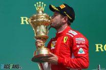 Vettel denies Hamilton at home as Ferrari and Mercedes clash again