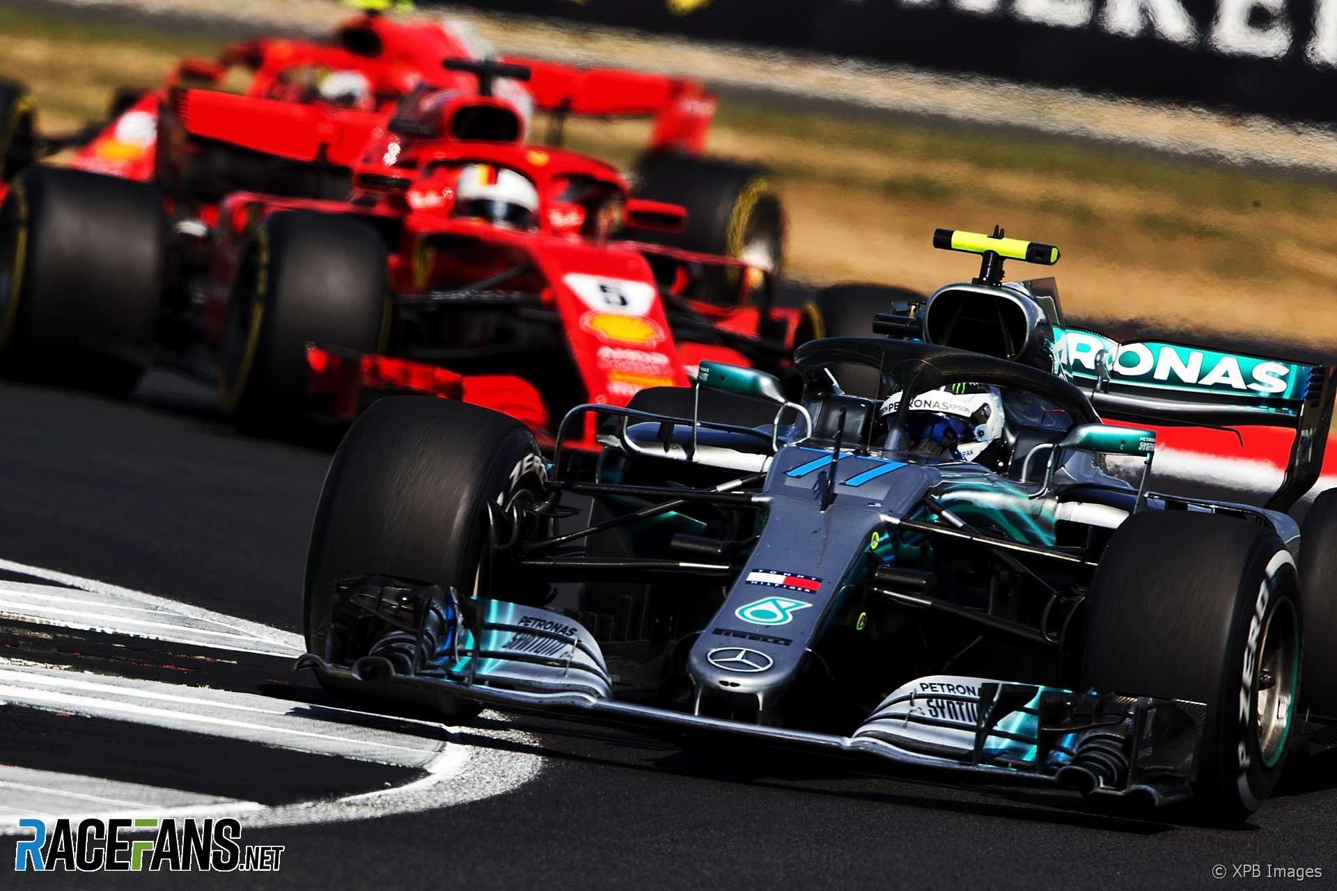 Valtteri Bottas, Mercedes, Silverstone, 2018