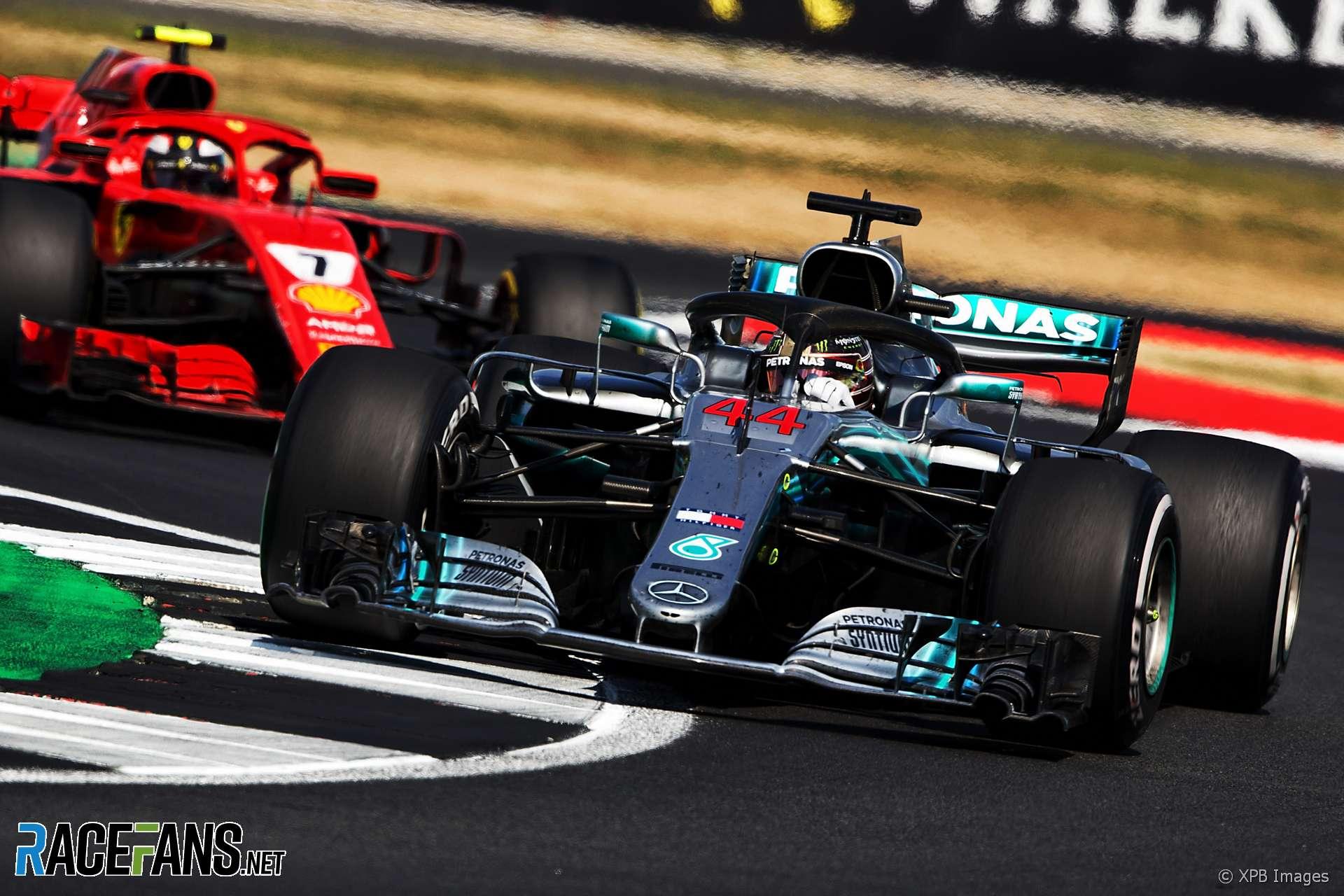 Lewis Hamilton, Mercedes, Silverstone, 2018