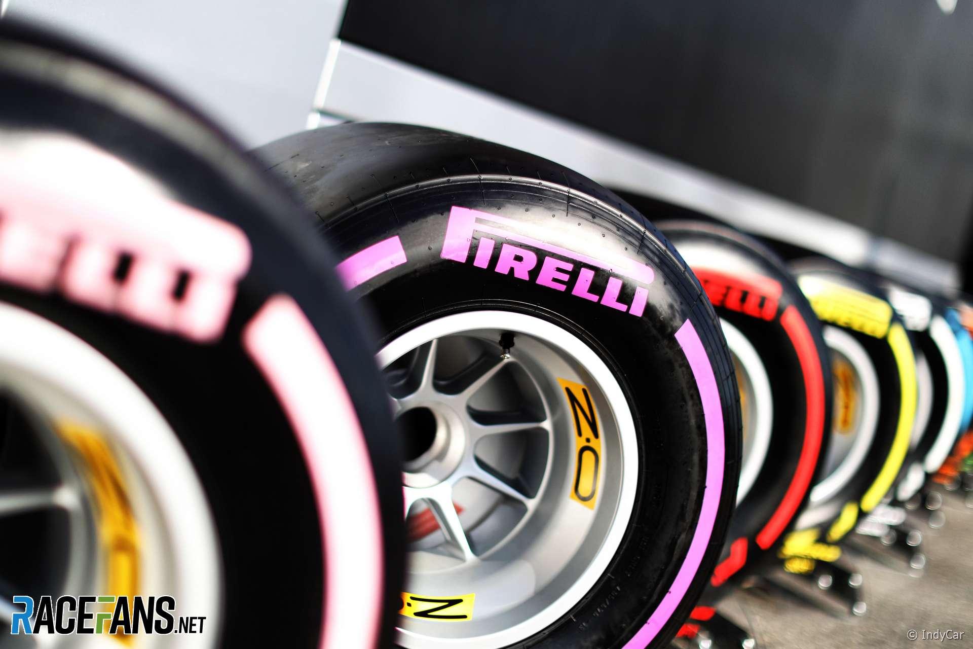 Tyres, Hockenheimring, 2018