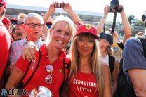 Sebastian Vettel fans, Ferrari, Hockenheimring, 2018