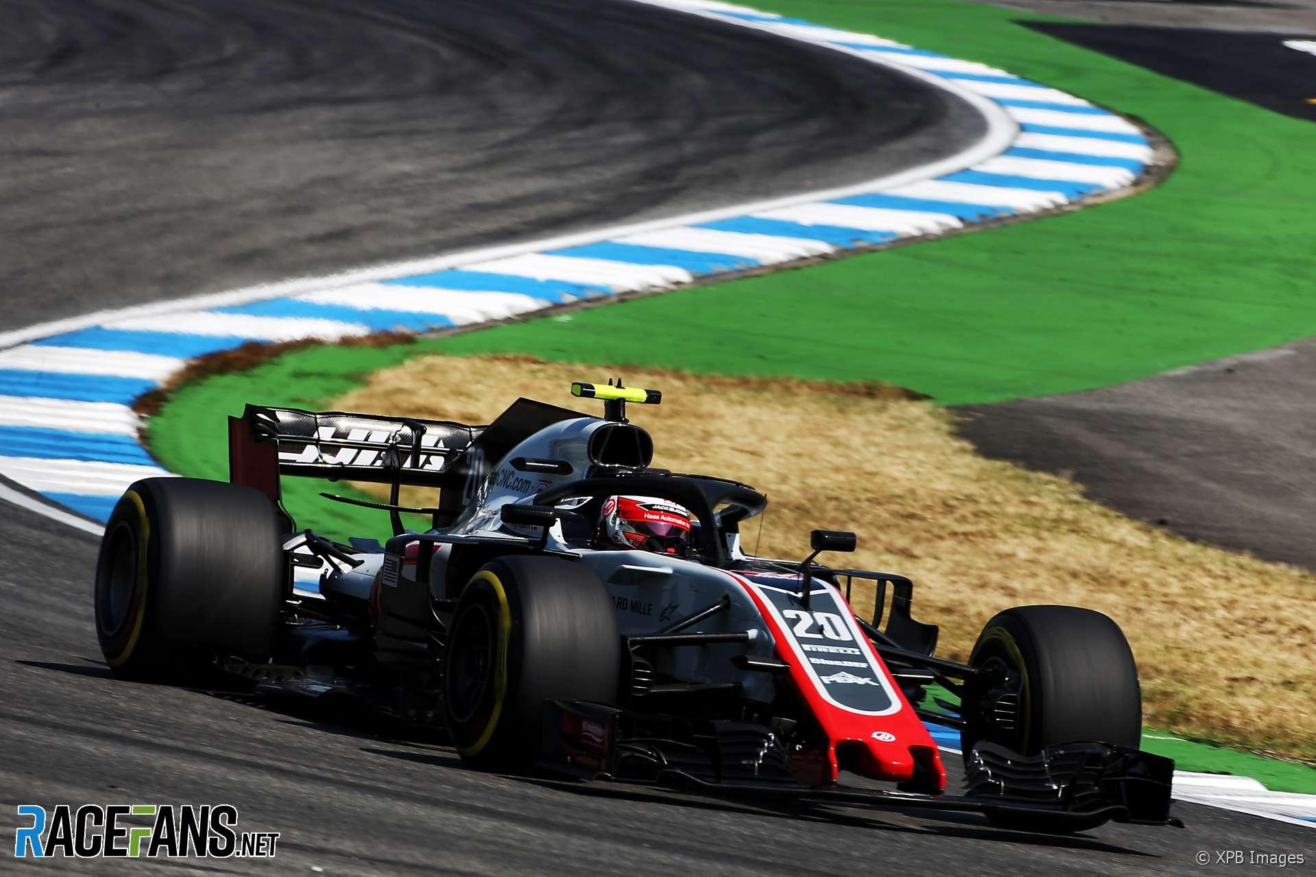 Kevin Magnussen, Haas, Hockenheimring, 2018
