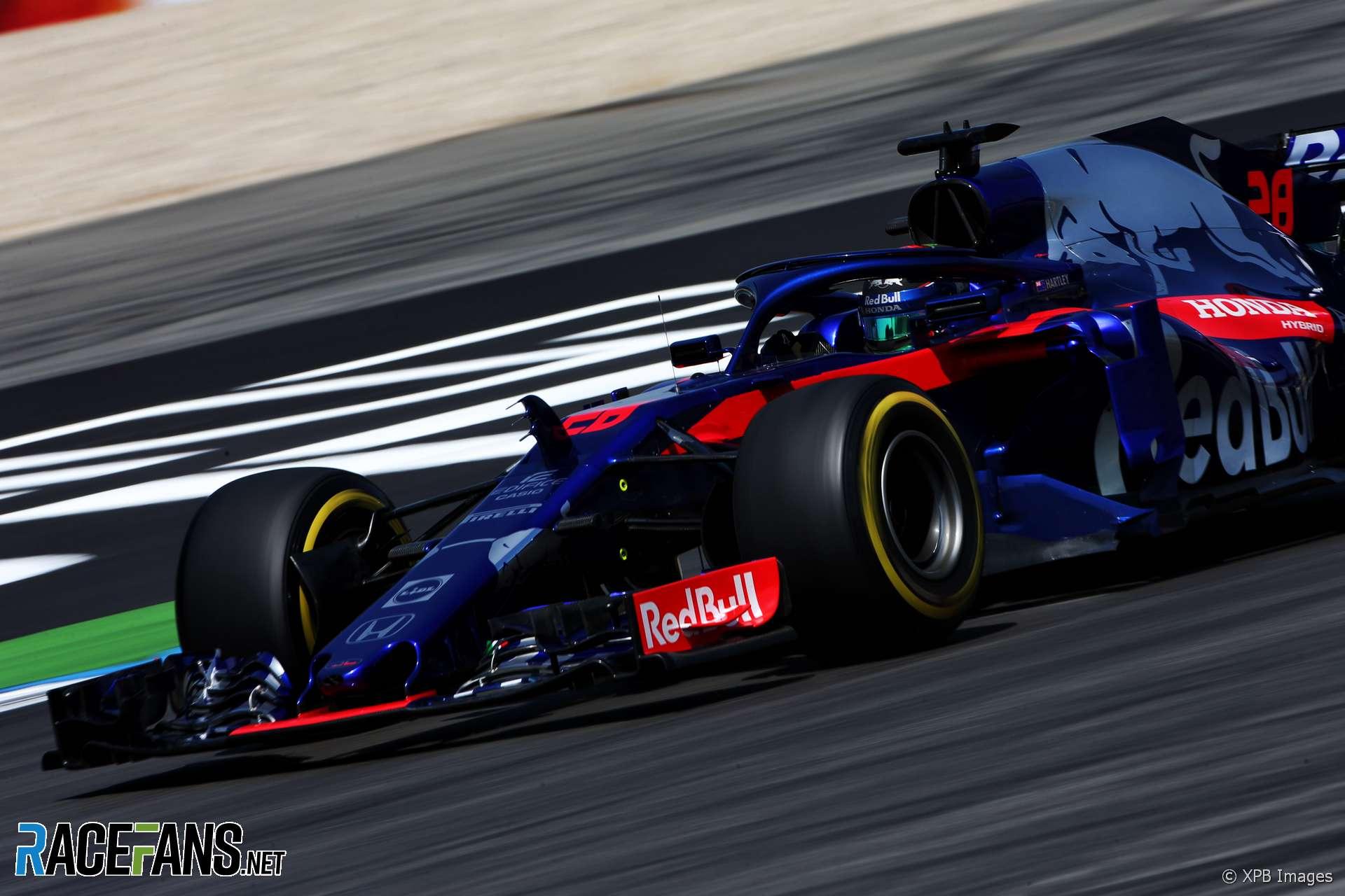 Pierre Gasly, Toro Rosso, Hockenheimring, 2018