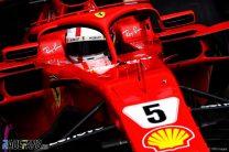 Vettel quickest, then spins, as Ericsson escapes huge crash