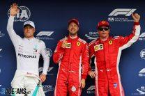 "Hamilton's qualifying breakdown was ""a shame"", says Vettel"
