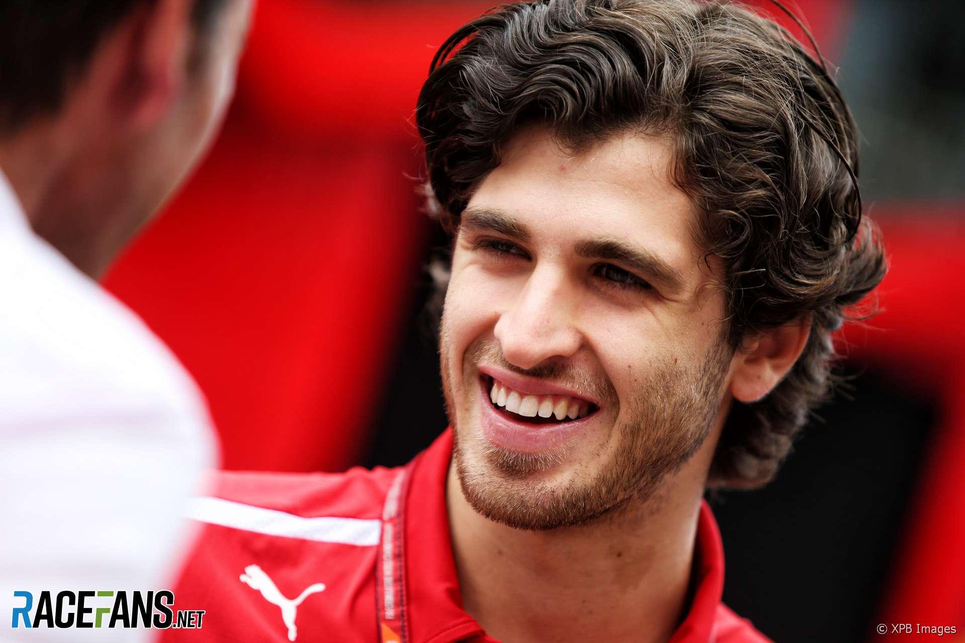 Antonio Giovinazzi, Ferrari, Hockenheimring, 2018