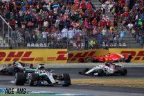 Hamilton rains on Vettel's parade