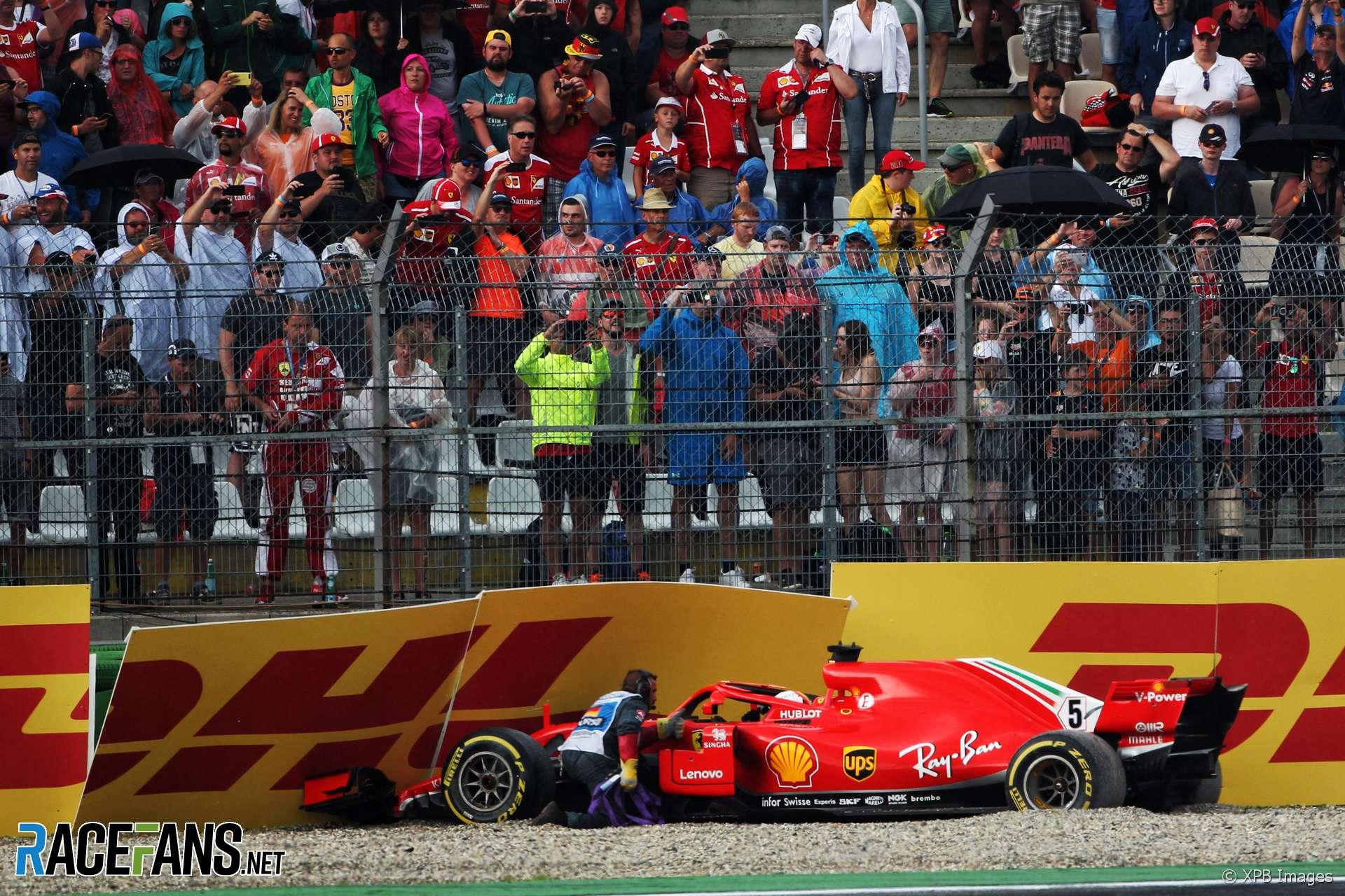 Sebastian Vettel, Ferrari, Hockenheimring, 2018