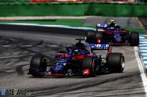 How Hartley avoided making his team mate's wet tyre mistake
