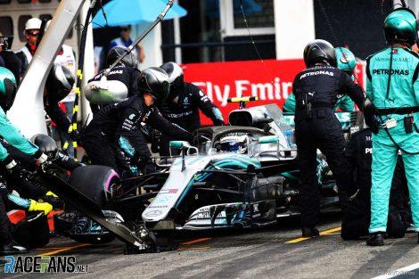 Valtteri Bottas, Mercedes, Hockenheimring, 2018