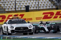 """Hamilton: Decision not to pit was """"most confusing second and a half"""""""
