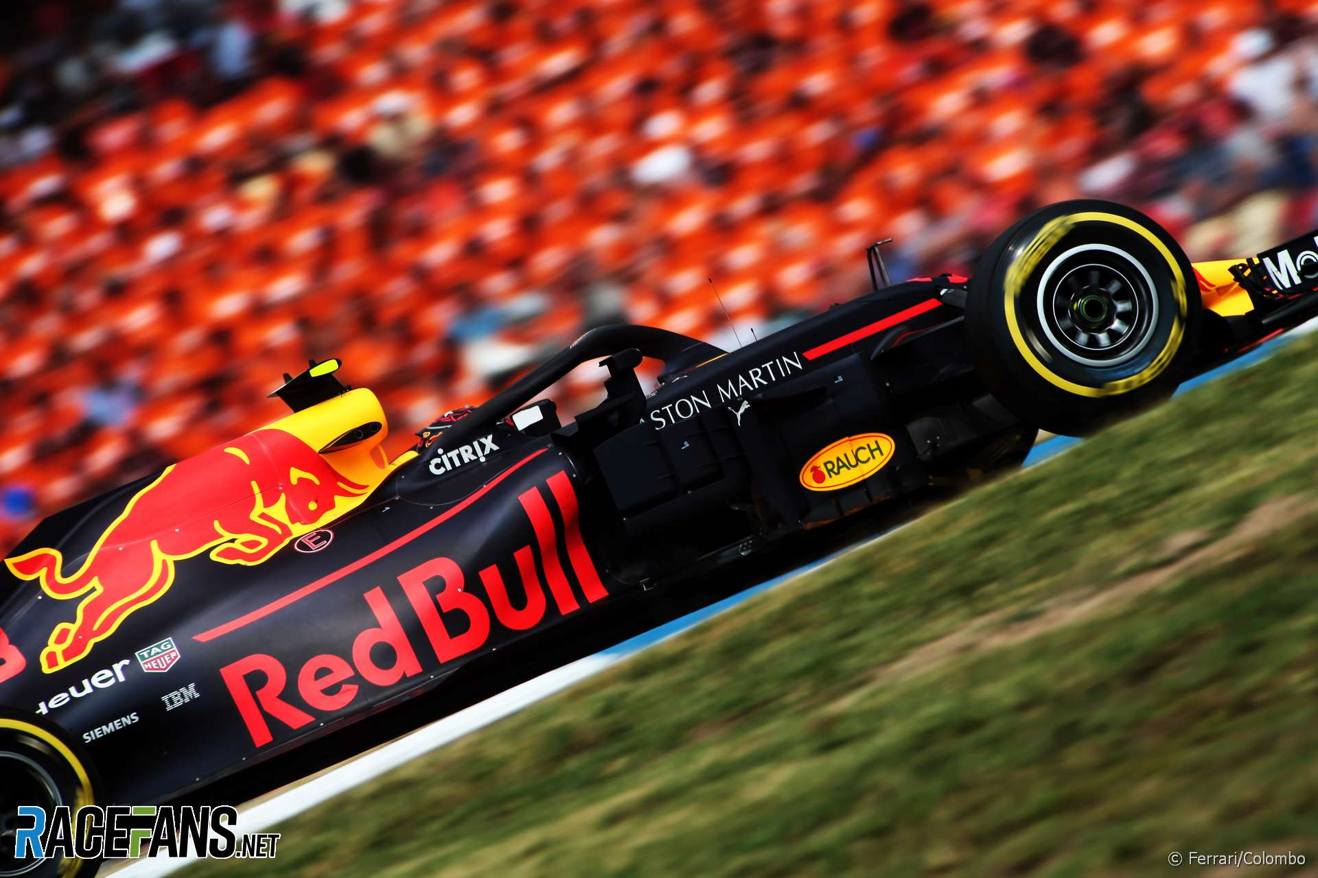 Max Verstappen, Red Bull, Hockenheimring, 2018