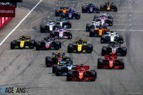 2019 German Grand Prix TV Times