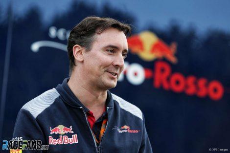 James Key, Toro Rosso, 2017
