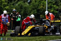 Renault warned FIA over marshals touching Hulkenberg's car