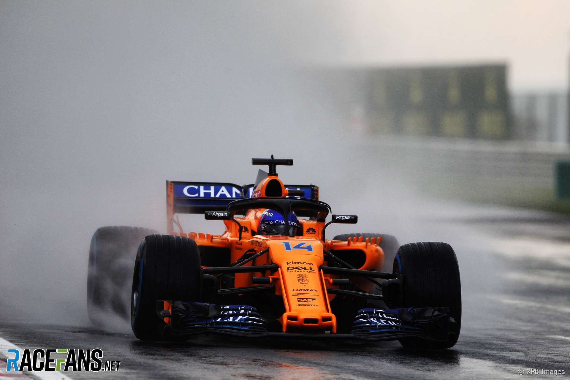 Fernando Alonso, McLaren, Hungaroring, 2018