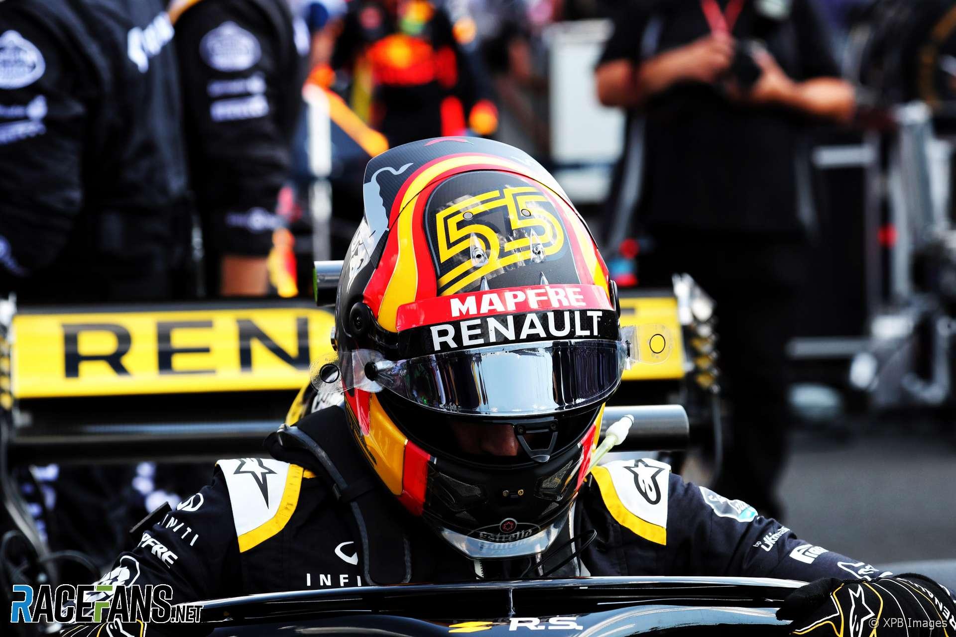 Carlos Sainz Jnr, Renault, Hungaroring, 2018