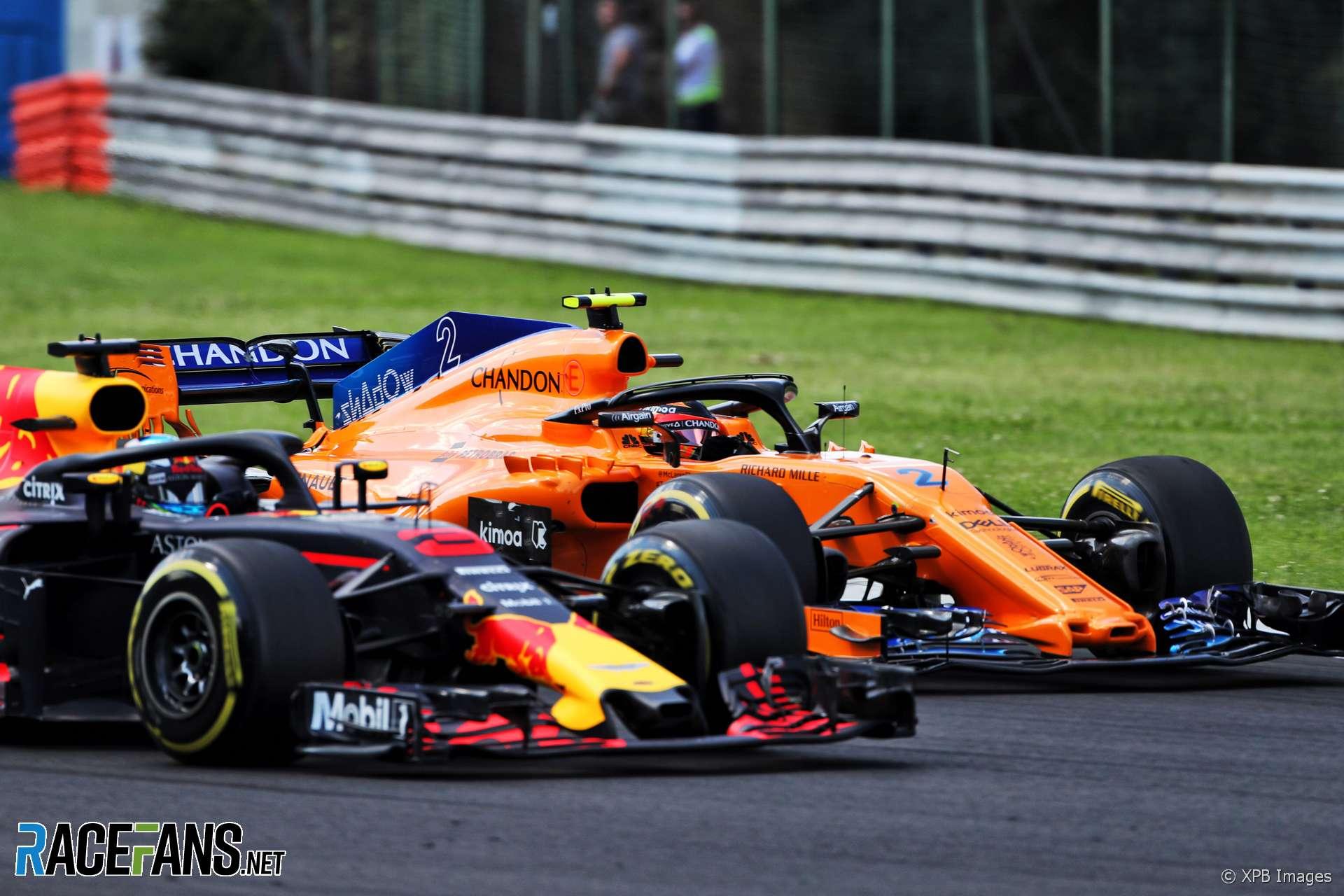 Stoffel Vandoorne, McLaren, Hungaroring, 2018